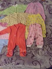 Продам детские вещи от 0 до 3 месяцев. Рост: 50-60, 60-68 см