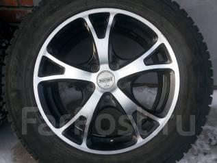 Комплект колес на Дисках WORK. 7.0x17 5x114.30 ET53 ЦО 73,3мм.