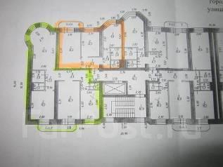 3-комнатная, улица Саратовская 4а. Железнодорожный, агентство, 70 кв.м.