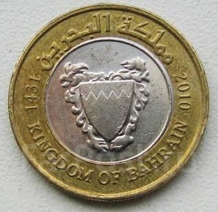Бахрейн. 100 филсов. 2010 г