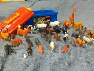 Набор животные+сундук 32 штуки ! ! ! Япония!