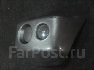 Клык бампера. Mitsubishi Pajero Mini