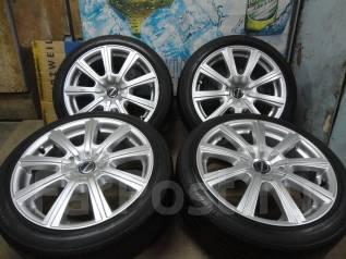 Продам Стильные Модные колёса Borbet+Лето бонус 215/45R17Toyota, Subaru. 7.5x17 5x100.00 ET40