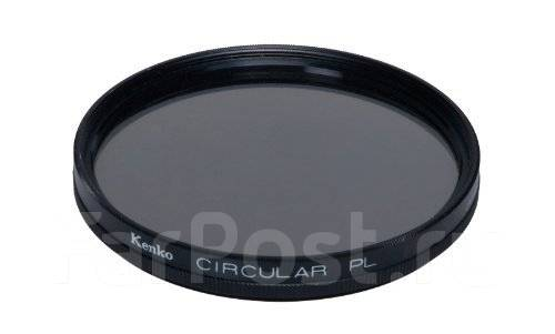 Поляризационный круговой фильтр Kenko 77 мм. диаметр 77 мм