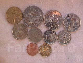 Сингапур, набор 10-ть монет