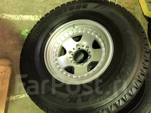 Не Китай! Отличный Bridgestone DMZ3 285/75/16 на литье Berg -28/8/16. 8.0x16 6x139.70 ET-28