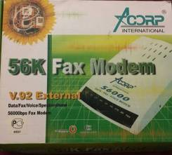 Факс-модемы.