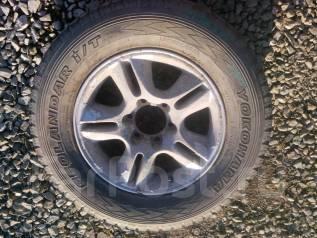 Продам колесо запаску Yokohama 265/65R17 на Lexus GX 470. 7.5x17 6x139.70 ET35 ЦО 100,1мм.