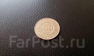 Суринам. 100 центов 1989 года.