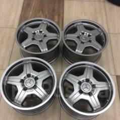 Диски AMG на Mercedes G, W463+Резина Yokahama AVS S/T. x18 5x130.00 ET45