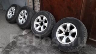 Продам комплект колес 265/65 R17 с литьём с Prado. 7.5x17 6x139.70 ET30