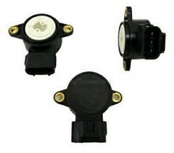 Датчик положения дроссельной заслонки. Toyota Corolla Spacio, AE111, AE111N Двигатель 4AFE
