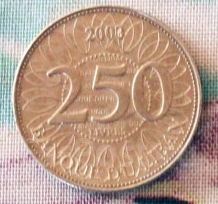 Ливан. 250 ливров 2000 г