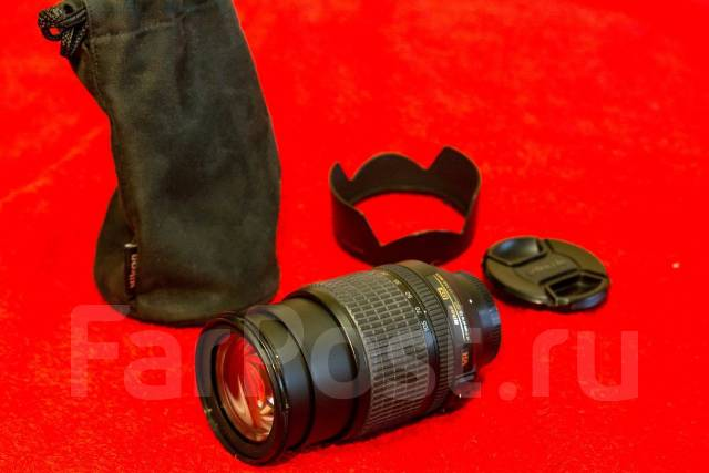 Объектив Nikon 18-105mm f/3.5-5.6G AF-S ED DX VR. Для Nikon, диаметр фильтра 67 мм