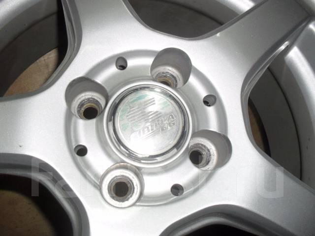 Литые диски Sibilla GG R15 с летними шинами 185/55R15 Yokohama Earth 1. 6.0x15 4x100.00 ET42 ЦО 65,0мм.