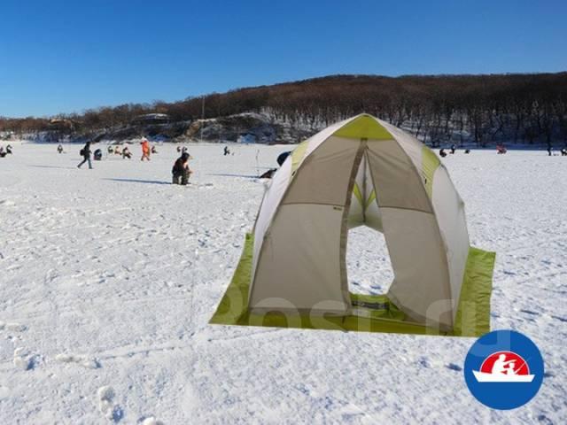поехать на рыбалку с палаткой