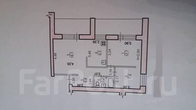 3-комнатная, улица Ленина 53. Центральный, агентство, 70 кв.м.