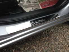 Обвес кузова аэродинамический. Mitsubishi Outlander, CW5W Двигатель 4B12