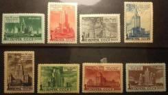 1951 г. Архитектура Москвы.