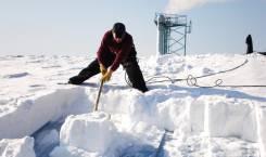 Уборка снега и льда с крыш