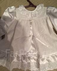Платья крестильные. Рост: 74-80 см