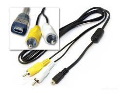 AV и USB кабель от фотоаппарата