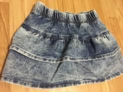 Юбки джинсовые. Рост: 74-80, 80-86, 86-98 см