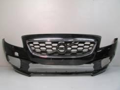 Бампер передний под омыв. фар volvo v40 12- б/у 391302 31290910 4*. Volvo V40. Под заказ