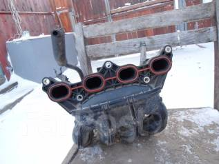 Коллектор впускной. Toyota Vitz, SCP13, SCP90 Toyota Ractis, SCP100 Toyota Belta, SCP92 Двигатель 2SZFE