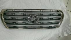Решетка радиатора. Toyota Land Cruiser, VDJ200, GRJ200, URJ200, UZJ200 Двигатели: 1VDFTV, 2UZFE