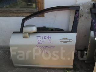 Дверь боковая. Nissan Tiida