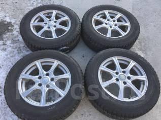 215/65 R16 Bridgestone DM-V1 литые диски 5х114.3 (L9-1605). 6.5x16 5x114.30 ET40