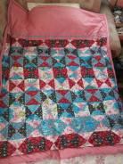 """Одеяла, выполненные в технике """"Пэчворк"""", ручная работа. Под заказ"""