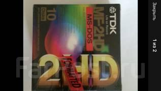 Дискеты 1.44MB 3.5 '' HD TDK новые в упаковке в Хабаровске