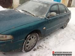 Стекло боковое. Mazda 626