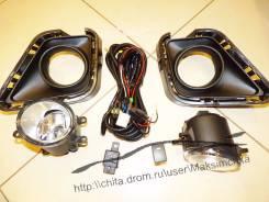 Фара противотуманная. Toyota Ractis, NCP122, NCP120, NSP122, NSP120, NCP125 Двигатели: 1NZFE, 1NRFE