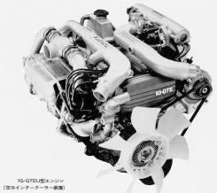 Двигатель. Toyota Mark II, GX81 Двигатели: 1GGTE, 1GFE