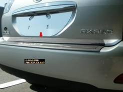 Накладка на дверь багажника. Toyota Harrier