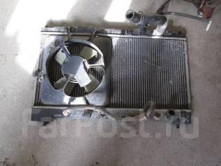 Радиатор охлаждения двигателя. Honda Integra, DB6 Двигатель ZC