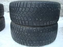 Michelin X-Ice North XIN2. Зимние, шипованные, износ: 30%, 2 шт