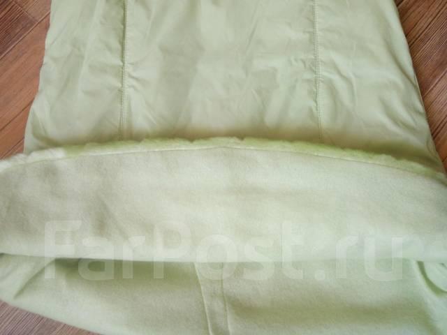 Милое платье-жилеточка на флисе нежно-зелёного цвета! С рубля!. Рост: 116-122, 122-128 см