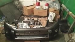 Накладка на бампер. Toyota Land Cruiser Prado, GDJ150W