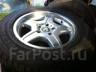 Колеса AMG R18 Mercedes-Benz G55 W463 Dunlop Grandtrek SJ6. 9.5x18 5x130.00 ET50
