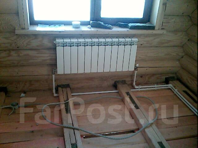 Отопление частного дома своими руками схемы фото
