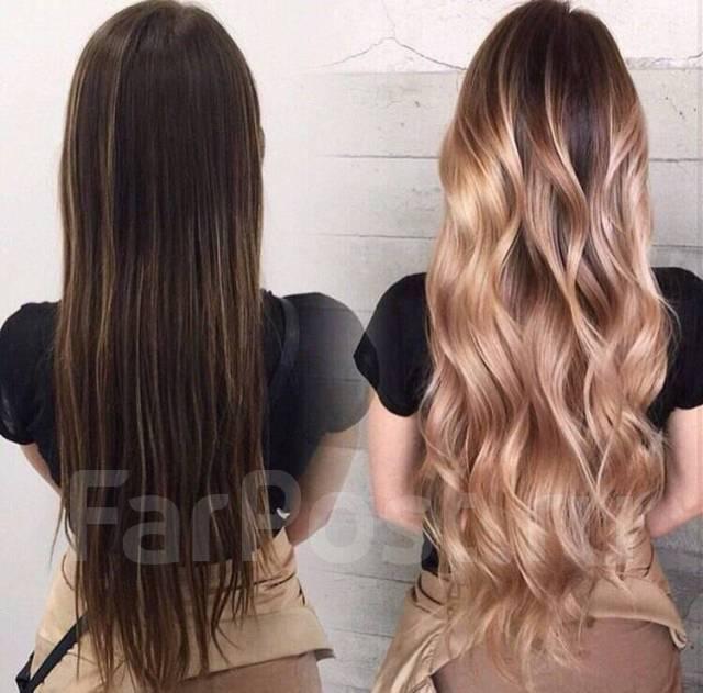 Чем осветлить волосы в домашних условиях омбре 956