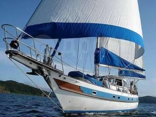 """Шикарная парусная яхта VIP класса """"Vesta"""". 10 человек, 19км/ч"""