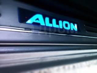 Накладка на порог. Toyota Allion, AZT240, NZT240, NZT260, ZRT260, ZRT261, ZRT265, ZZT240, ZZT245