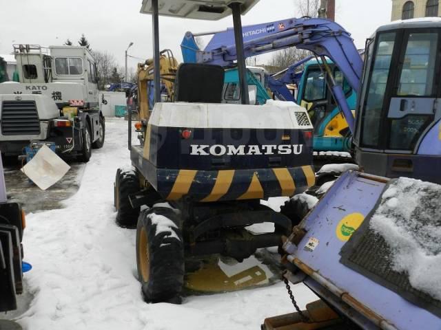Komatsu. Экскаватор PW20,, 0,20куб. м.
