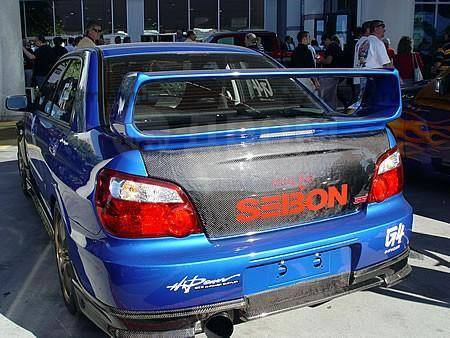Крышка багажника. Subaru Impreza WRX STI Двигатели: EJ25, EJ257
