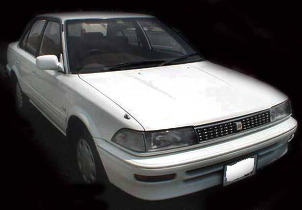 toyota corolla ae91 1988 год запчасти